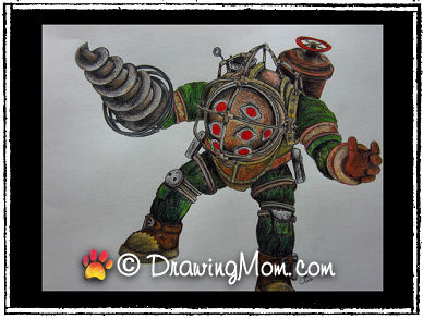 BioShock's Big Daddy