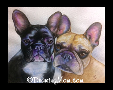 Two Frenchies